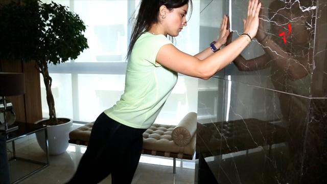 رشاقتك مع زينة-تعلمي كيفية شد المنطقة الخلفية من الجسم  في المنزل ومن دون أدوات رياضية